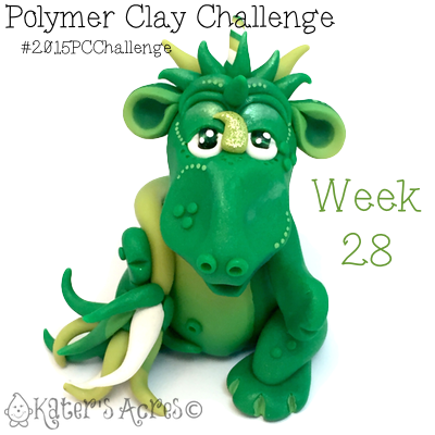 2015 Polymer Clay Challenge, Week 28 by KatersAcres | #2015PCChallenge