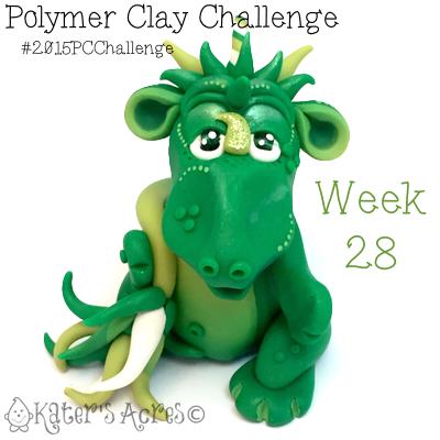 2015 Polymer Clay Challenge, Week 28 by KatersAcres   #2015PCChallenge