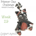 2015 Polymer Clay Challenge, Week 29 by KatersAcres | #2015PCChallenge