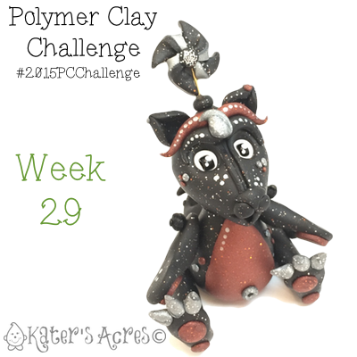 2015 Polymer Clay Challenge, Week 29 by KatersAcres | #2015PCChallenge