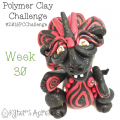 2015 Polymer Clay Challenge, Week 30 by KatersAcres | #2015PCChallenge