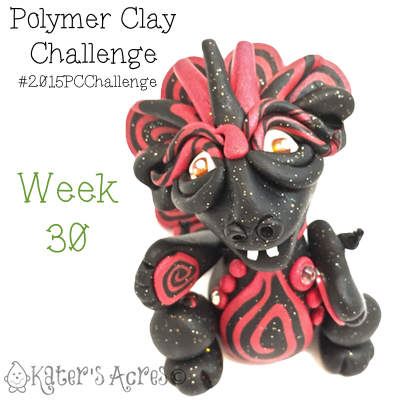 2015 Polymer Clay Challenge, Week 30 by KatersAcres | #2015PCChallenge