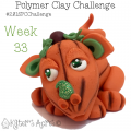 2015 Polymer Clay Challenge, Week 33 by KatersAcres | #2015PCChallenge