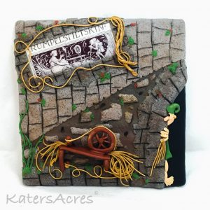 """""""Once Upon A Time"""" Project, Rumpelstiltskin by Katie Oskin of KatersAcres   FREE Faux Pen & Ink Image Tutorial - CLICK HERE"""