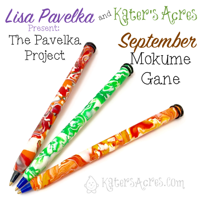 Polymer Clay Mokume Gane Using Scrap Clay | September Pavelka Project