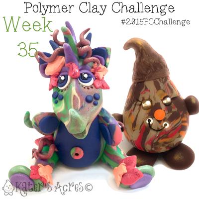 2015 Polymer Clay Challenge, Week 35 by KatersAcres   #2015PCChallenge