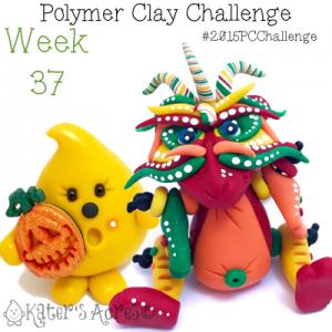2015 Polymer Clay Challenge, Week 37 by KatersAcres | #2015PCChallenge