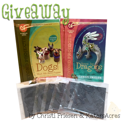 Christi Friesen 2015 Giveaway | Dogs Book, Dragons Book, & 6 stamps - HURRY Giveaway end Nov. 1st, 11:59pm