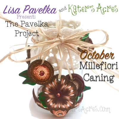 Polymer Clay Millefiori Caning | October Pavelka Project