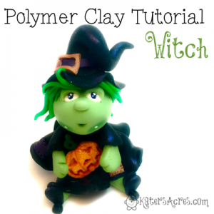 Polymer Clay Witch Tutorial by KatersAcres