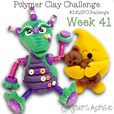 2015 Polymer Clay Challenge - Week 41 with KatersAcres