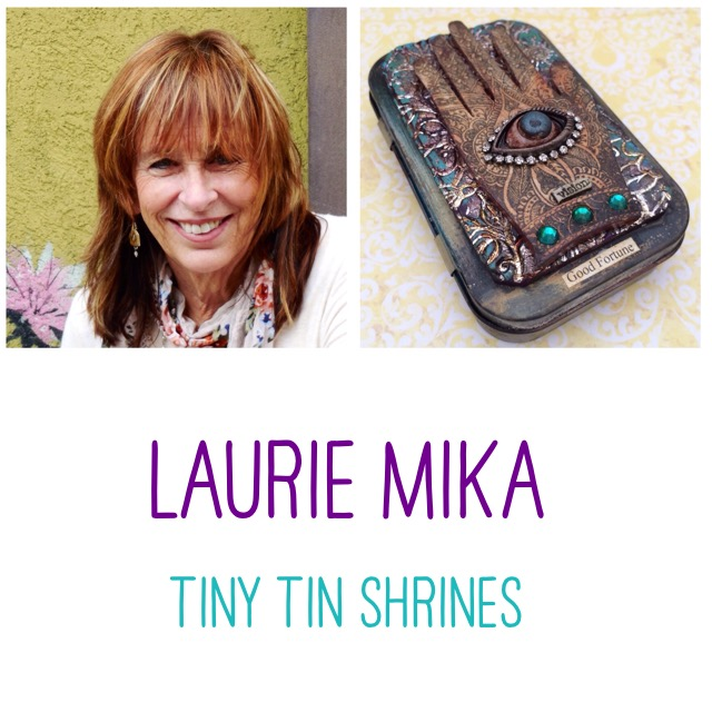 Laurie Mika Tiny Tin Shrine Class - Polymer Clay Adventure, Year 2