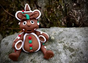 """Polymer Clay Dragon """"Molasses"""" by Katie Oskin of KatersAcres, Ready for Adoption on Etsy"""
