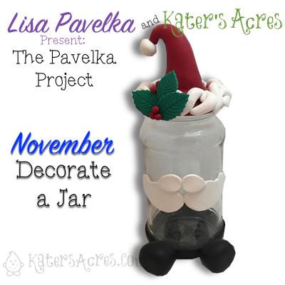 November Pavelka Project Challenge | Decorate a Jar