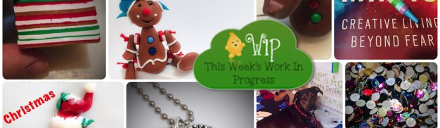 WIP Wednesday in KatersAcres Polymer Clay Studio | CLICK for tutorial links, ideas, inspiration, artist focus, & more