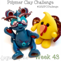 2015 Polymer Clay Challenge - Week 43 with KatersAcres