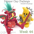 2015 Polymer Clay Challenge - Week 44 with KatersAcres