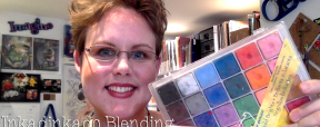 Inkadinkado Blending Chalks Review for Polymer Clay by KatersAcres