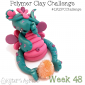 2015 Polymer Clay Challenge - Week 48 with #KatersAcres #2015PCChallenge