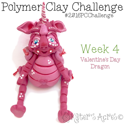 "2016 Polymer Clay Challenge - Week 4 ""Lolita"" with #KatersAcres #2016PCChallenge"