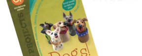 """Polymer Clay Book of the Month """"DOGS!"""" by Christi Friesen 