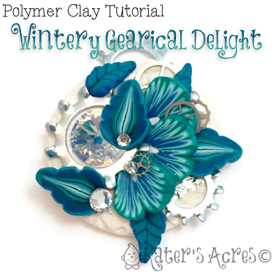 Polymer clay winter steampunk pendant tutorial katersacres polymer clay winter steampunk pendant tutorial by katersacres aloadofball Images