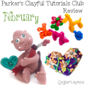 Parker's Clayful Tutorials Club February 2016 Monthly Review