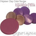 Polymer Clay Color Recipe Kissable Pink by KatersAcres