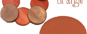 Polymer Clay Color Recipe for Kissable Orange by KatersAcres