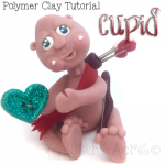 Polymer Clay Cupid Tutorial by KatersAcres