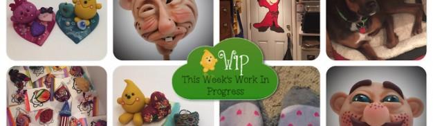 Work in Progress Wednesday in KatersAcres Polymer Clay Studio