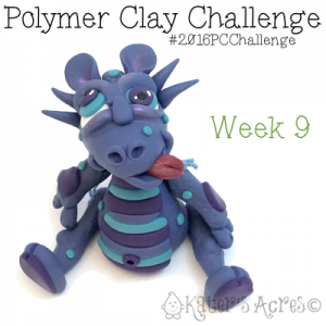 2016 Polymer Clay Challenge - Week 9 with #KatersAcres #2016PCChallenge