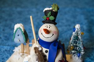 Snowman by Cyndi Small