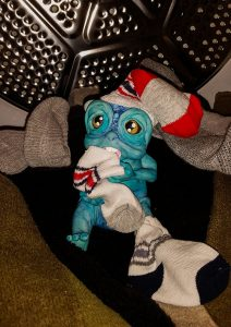 Sock Monster by Cyndi Small
