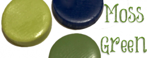 Polymer Clay Color Recipe for Moss Green by KatersAcres