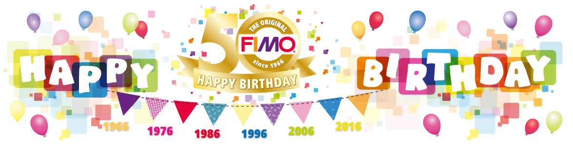 FIMO Birthday Banner