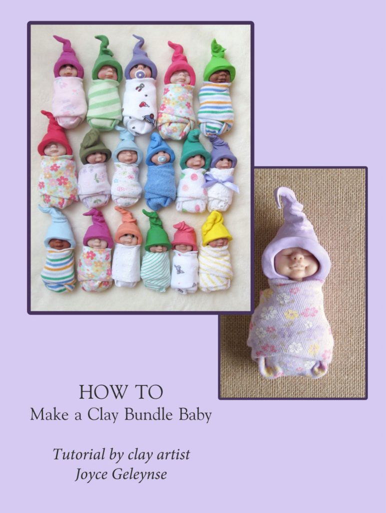 Clay Bundled Babies Tutorial | May Tutorial of the Month