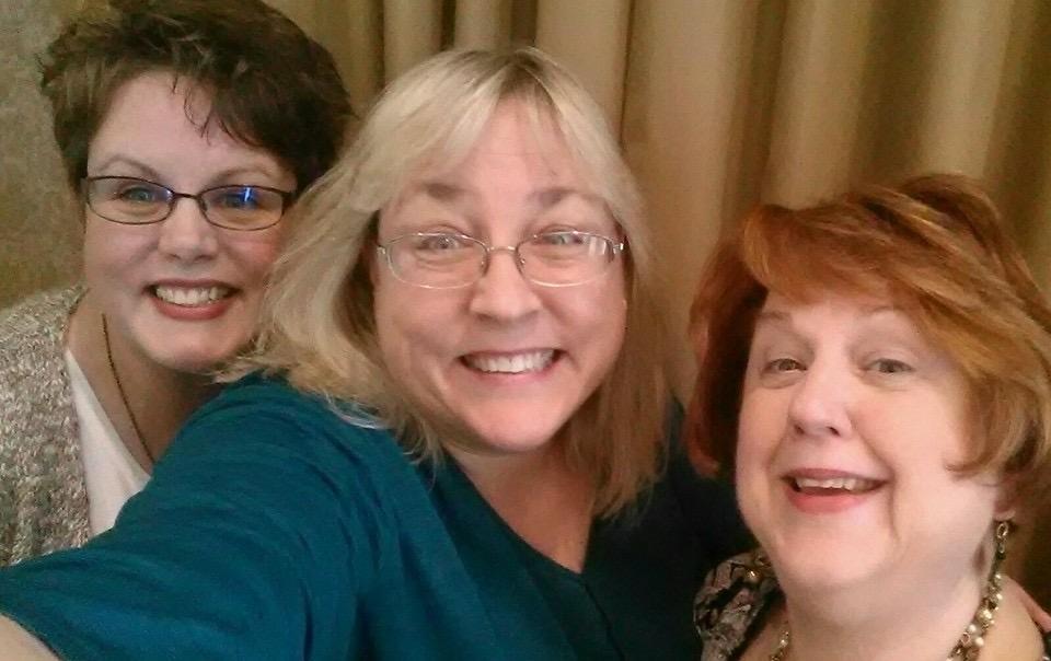 Katie Oskin, Christi Friesen, & Brenda Lansdowne
