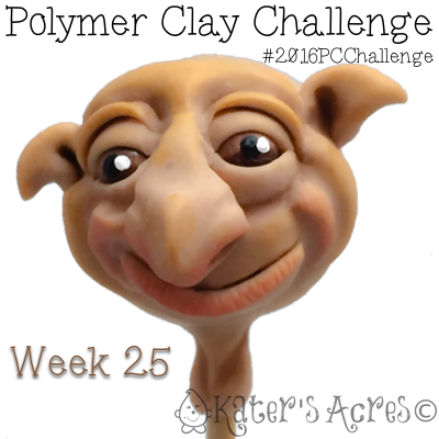 Sculpted Dwarf Face by KatersAcres - Week 24 of the #2016PCChallenge