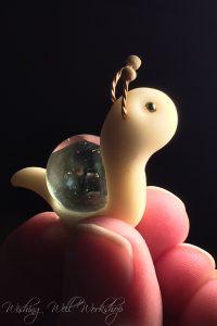 Polymer Clay Marble Snail-Jennifer Sorensen 2016