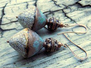 Set In Stone Earrings by Shannon Tabor