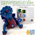 Explorations in Voice Collaboration with Katie Oskin & Ginger Davis Allman | Polymer Clay Tools & Supplies Review