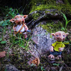The Schrumes - Felix & Miner by Katie Oskin