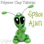 Polymer Clay Alien Tutorial by KatersAcres
