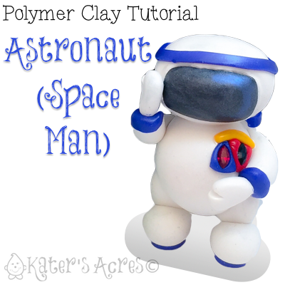 Katersacres polymer clay space tutorial bundle pack of 4 for Space tutorial