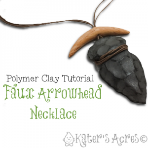 Faux Arrowhead Necklace Tutorial by KatersAcres