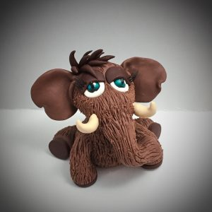 Polymer Clay Woolly Mammoth Tutorial by KatersAcres