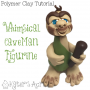 Polymer Clay Caveman Tutorial   Learn to Make Your Own Whimsical Figurine