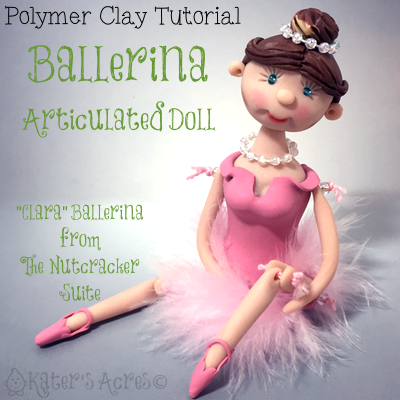 Polymer Clay Ballerina Doll Tutorial