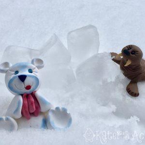 Polymer Clay Polar Bear & Walrus Tutorials | Learn to Create These Unique Figurines as a Keepsake